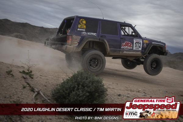 Jeepspeed, Tim Martin, Laughlin Desert Classic, General Tire, KMC Wheels, Bink Designs