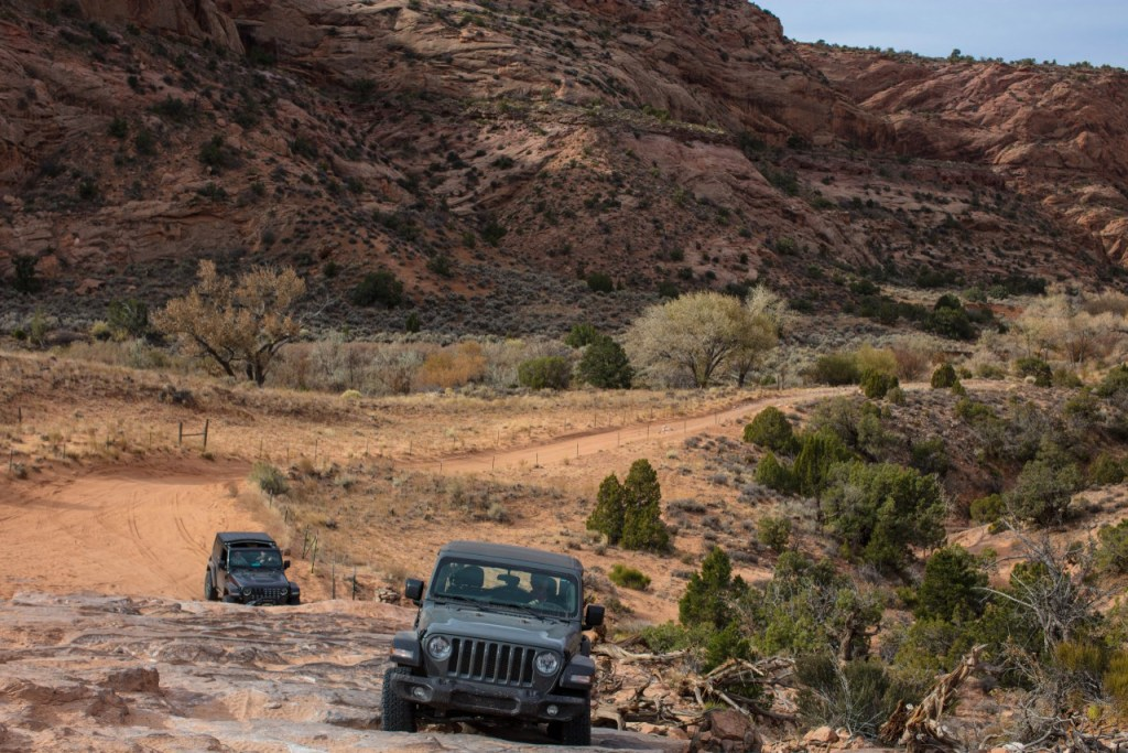 Jeep Tour Colorado Native Jeeps Wheeling with a Stock Jeep