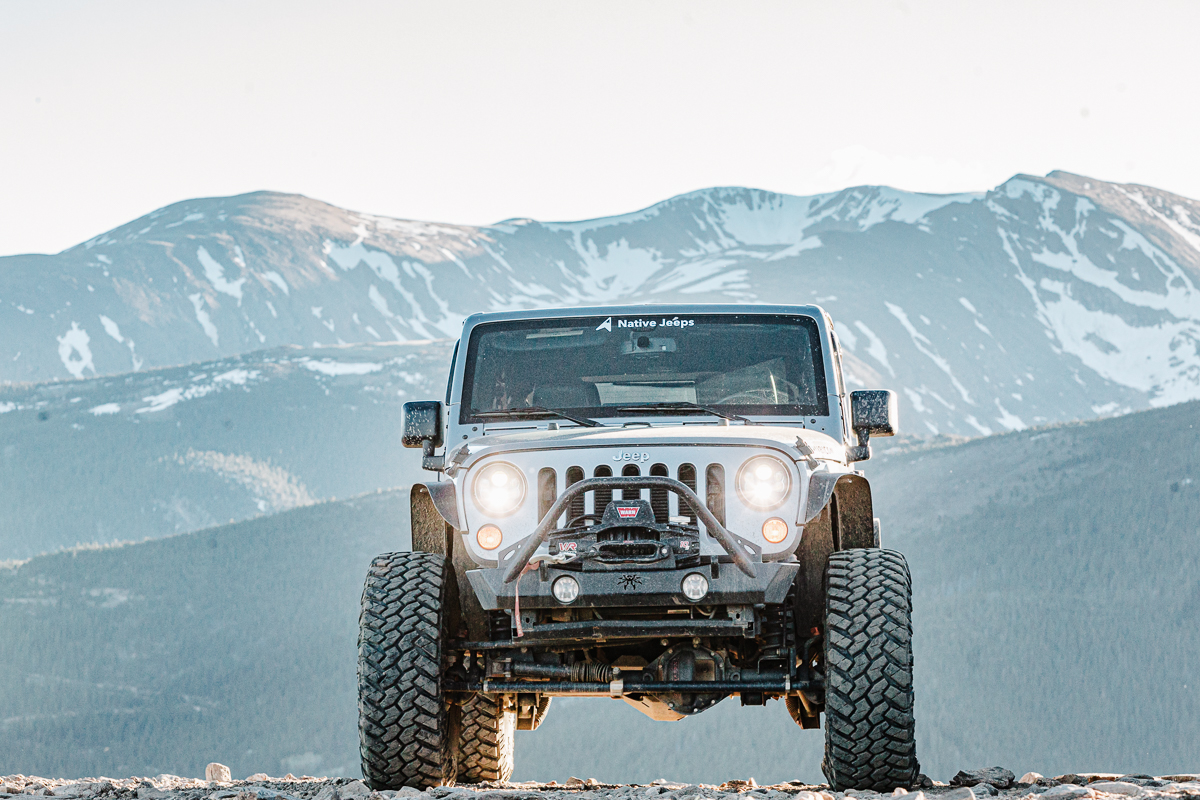 Jeep Tours Colorado Native Jeeps What Lift for your Jeep