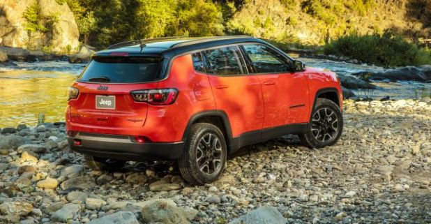 2018 Jeep Compass rear