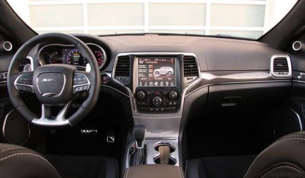 2018 Jeep Grand Cherokee SRT8 Hellcat interior