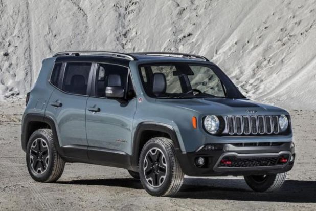 2018 Jeep Renegade front