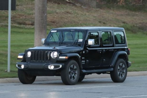 2018 Jeep Wrangler Unlimited front