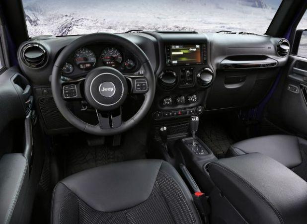 2018 Jeep Wrangler Unlimited interior