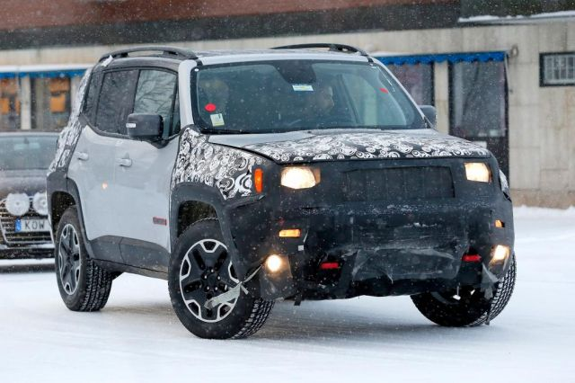 2019 Jeep Renegade Review, Spy Shots