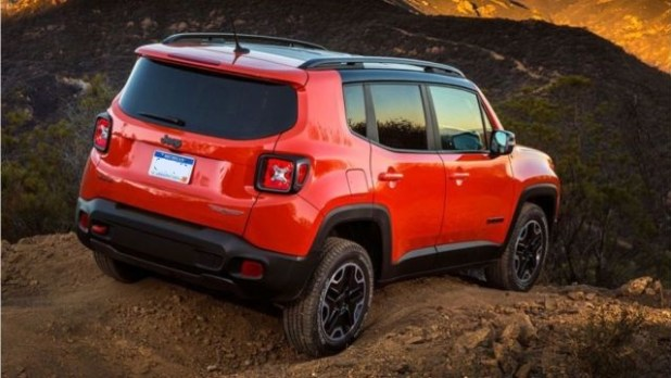 2019 Jeep Renegade rear look