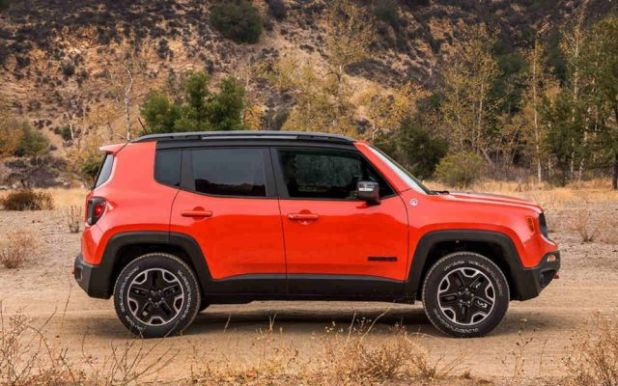 2019 Jeep Renegade side look
