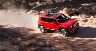 2019 Jeep Renegade side view