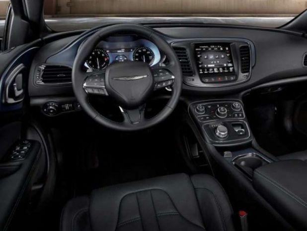 2019 Chrysler 200 interior