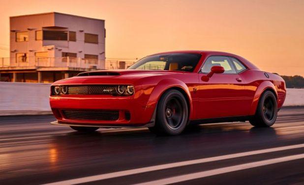 2019 Dodge Challenger SRT Demon front