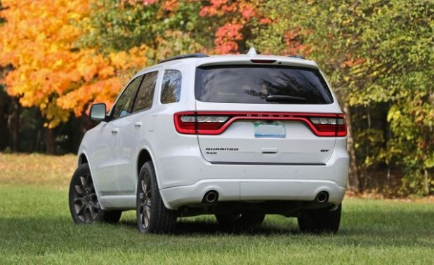2019 Dodge Durango rear view