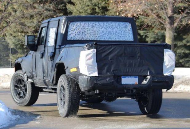 2019 Jeep Scrambler rear