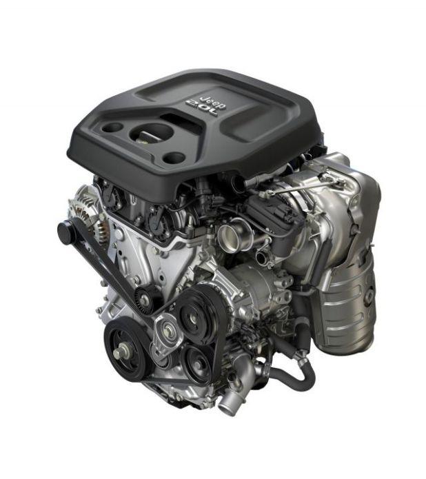 2019 Jeep Wrangler Unlimited engine