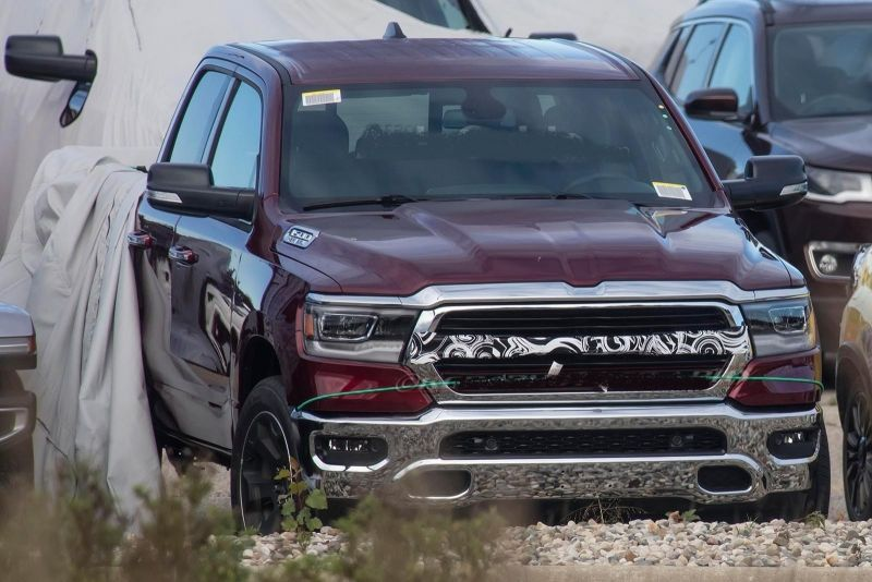 2019 Ram 2500 First spy photos