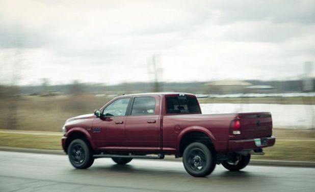 2019 Ram 3500 rear