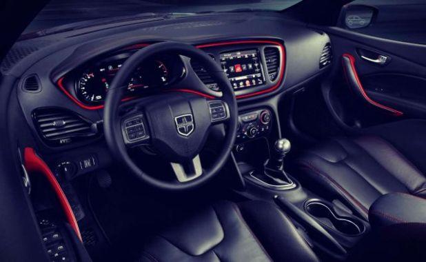 2019 Dodge Dart interior