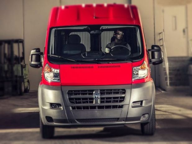 2019 RAM ProMaster front