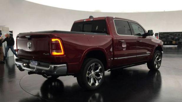 2019 RAM 1500 Lone Star rear