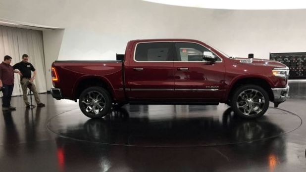 2019 RAM 1500 Lone Star side