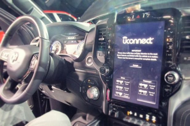 2019 Ram 1500 EcoDiesel front interior