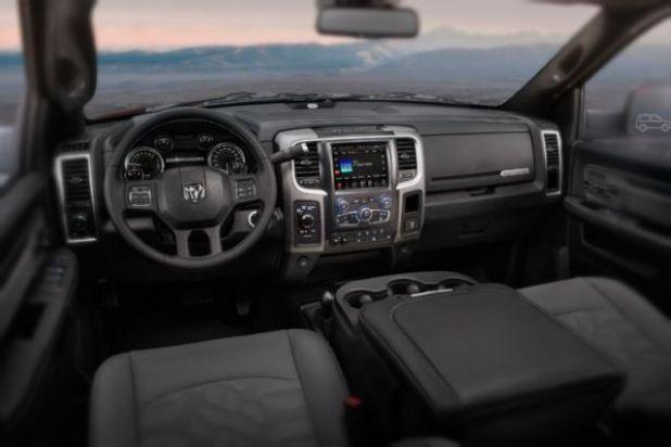 2019 Ram Power Wagon interior