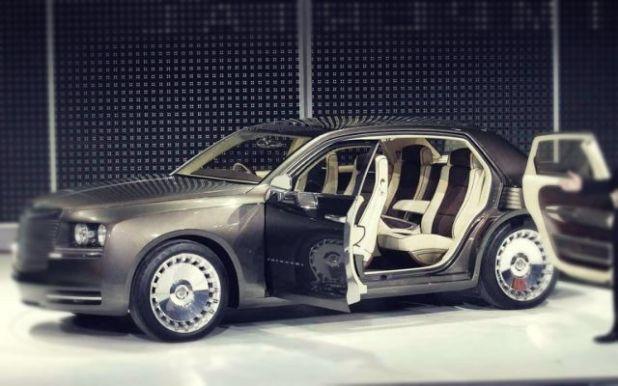 2019 Chrysler Imperial side