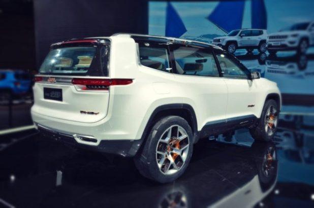 2020 Jeep Grand Wagoneer rear