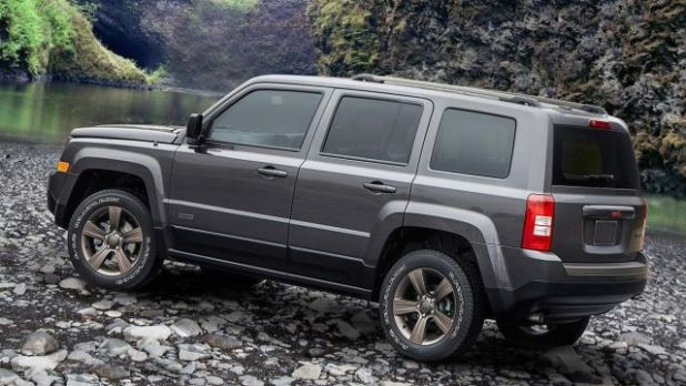 2020 Jeep Patriot rear