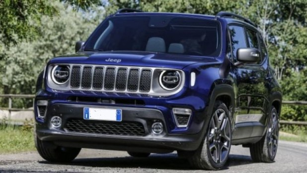 2020 Jeep Renegade Plug-in hybrid front