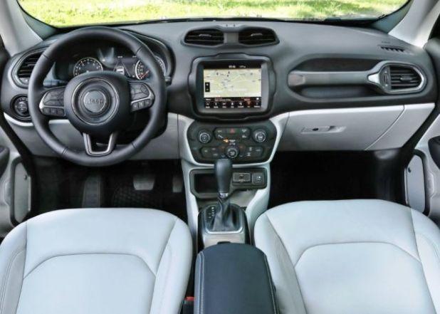 2020 Jeep Renegade Plug-in hybrid interior