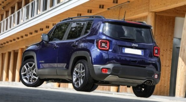 2020 Jeep Renegade Plug-in hybrid rear