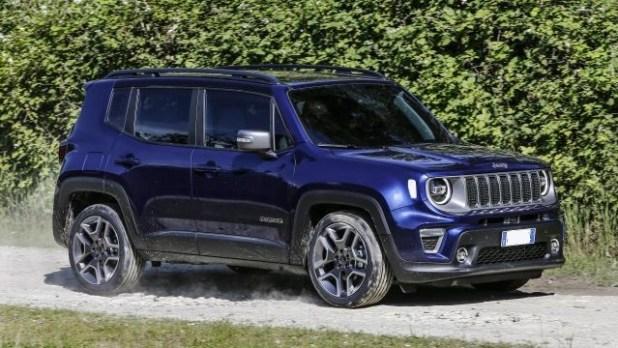 2020 Jeep Renegade Plug-in hybrid side