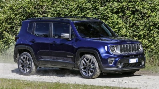 2020 Jeep Renegade Plug-in hybrid side