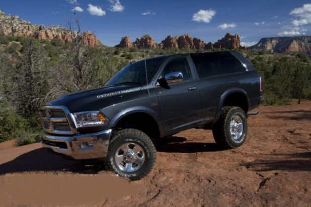 2020 Dodge Ramcharger side look