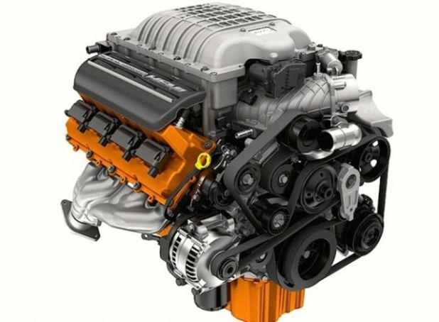 2020 Jeep Grand Cherokee SRT8 Hellcat engine