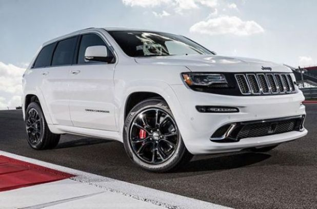 2020 Jeep Grand Cherokee SRT8 Hellcat side
