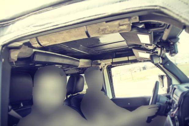 2020 Jeep Scrambler interior