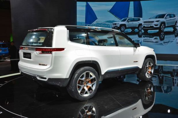 2020 Jeep Yuntu rear