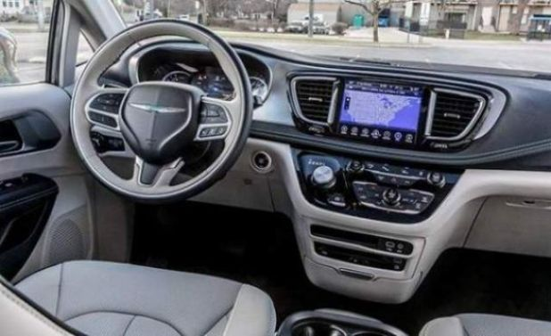 2020 Chrysler Aspen interior