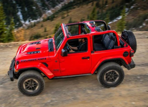 2020 Jeep Wrangler Hybrid side