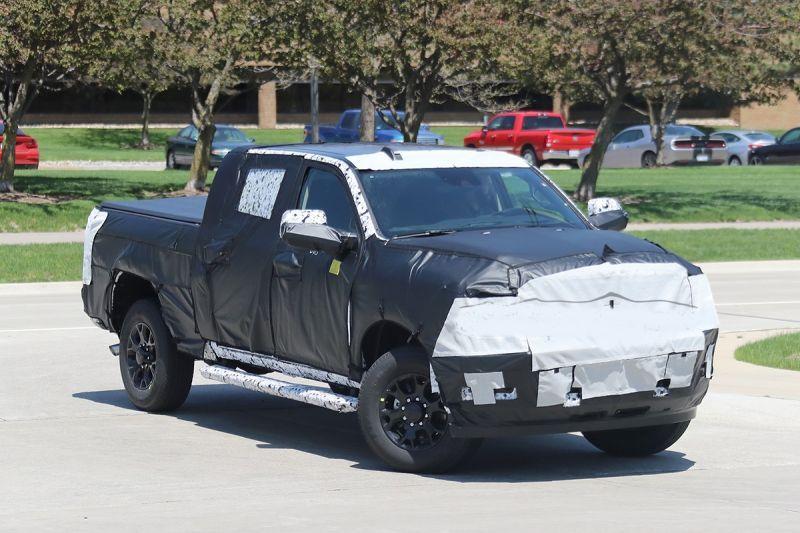 New 2020 Ram 2500 Mega Cab Spied Testing - Jeep Trend