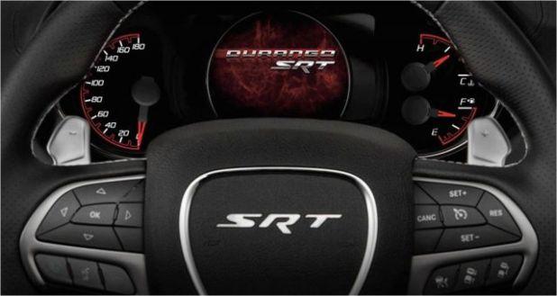 2021 Dodge Durango interior