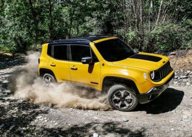 2020 Jeep Renegade Hybrid side