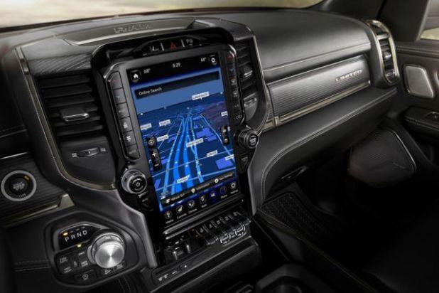 2020 Ram 1500 EcoDiesel interior