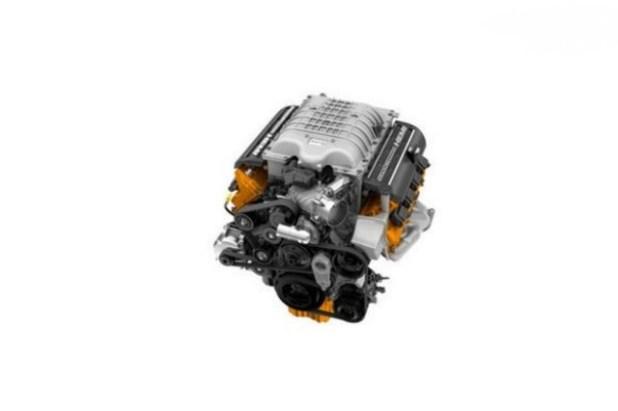 2020 Ram 1500 SRT Hellcat engine view