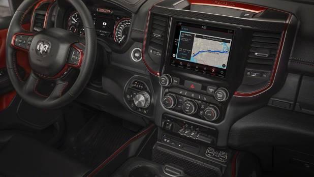 2020 Ram 1500 SRT Hellcat interior look