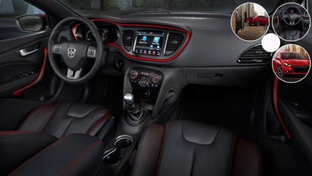 2020 Dodge Dart interior