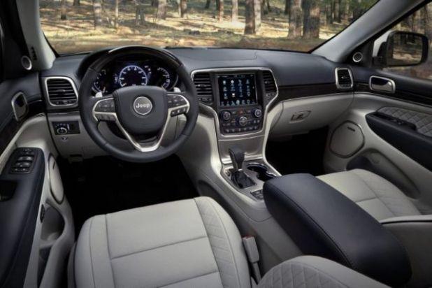2021 Jeep Grand Wagoneer interior
