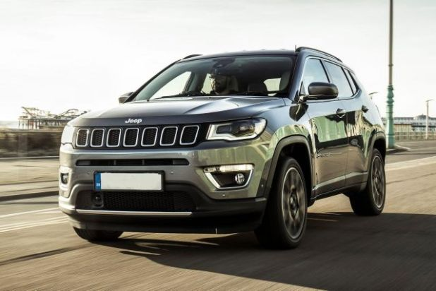 2020 Jeep Compass Turbo front