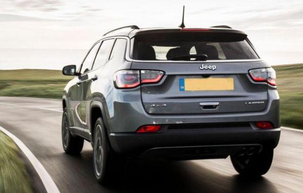 2020 Jeep Compass Turbo rear